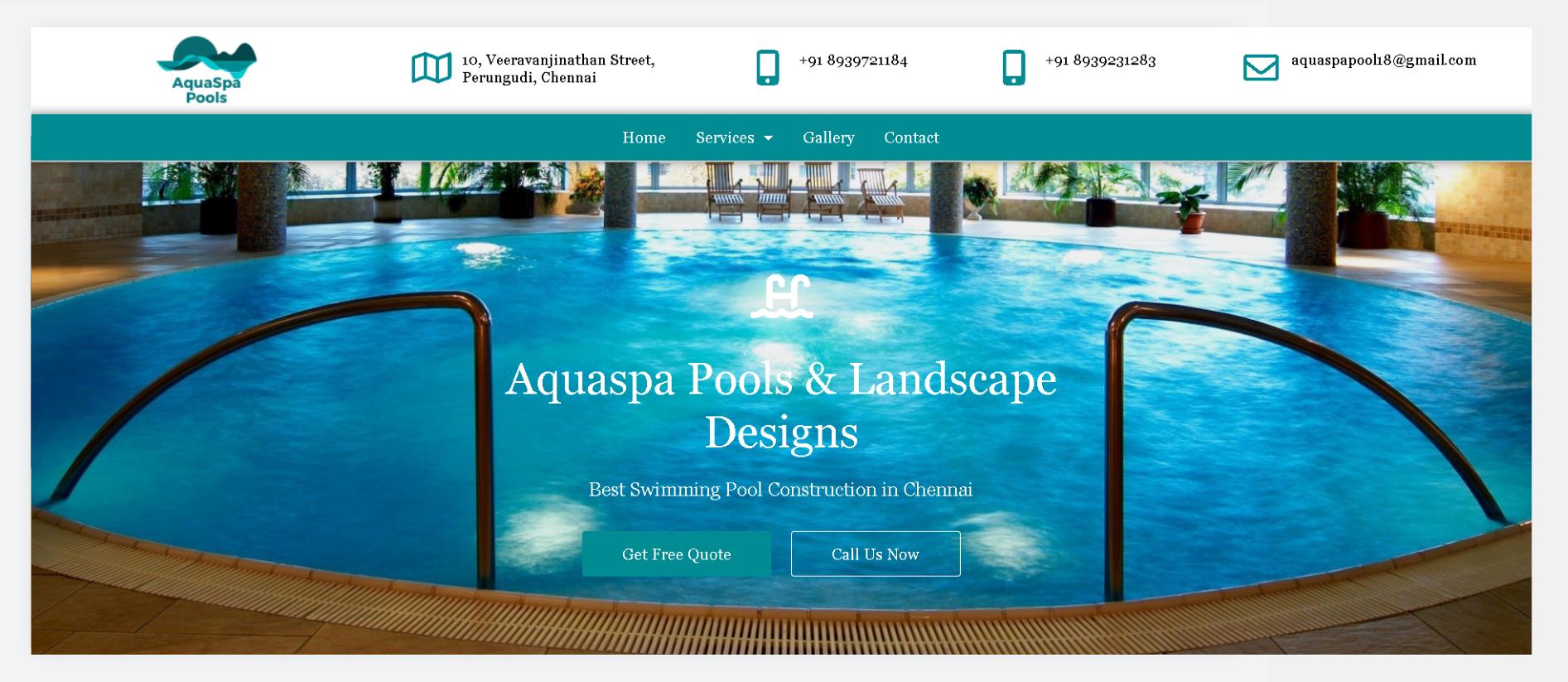 AquaSpa Pools and Landscape Design